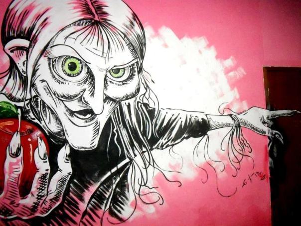 Sin? - grafitti art